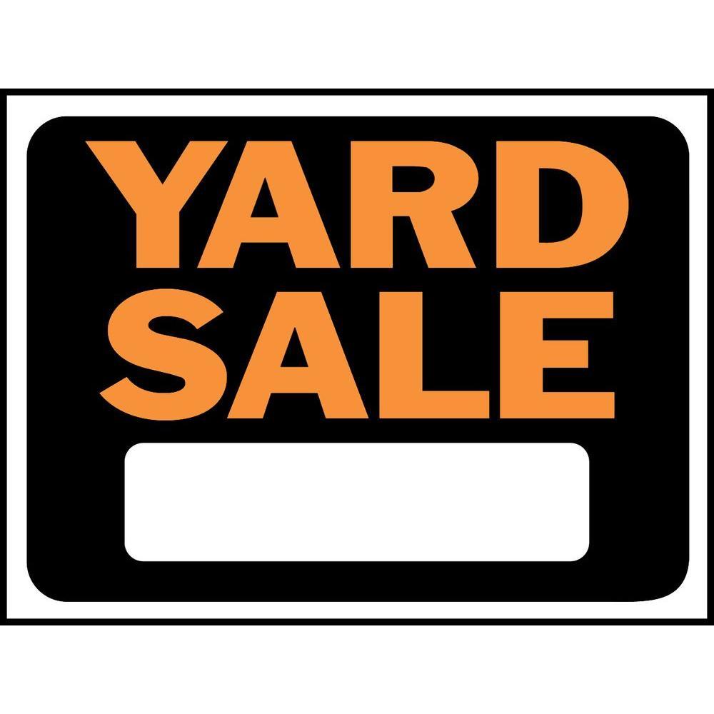 1000x1000 Hy Ko 9 In.x 12 In.plastic Yard Sale Sign 3033