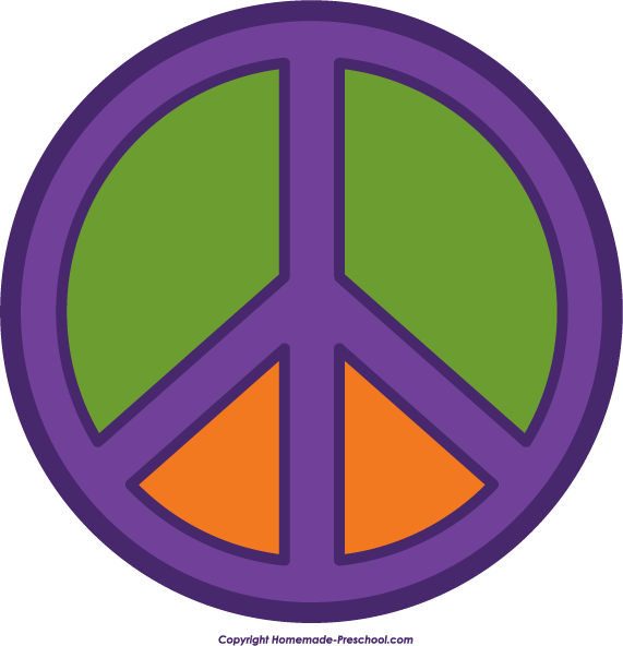 571x592 Free Peace Sign Clipart