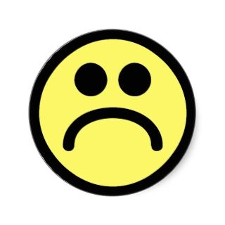 320x320 Sad Face Smiley Clip Art Images Image 2 Clipartix 2