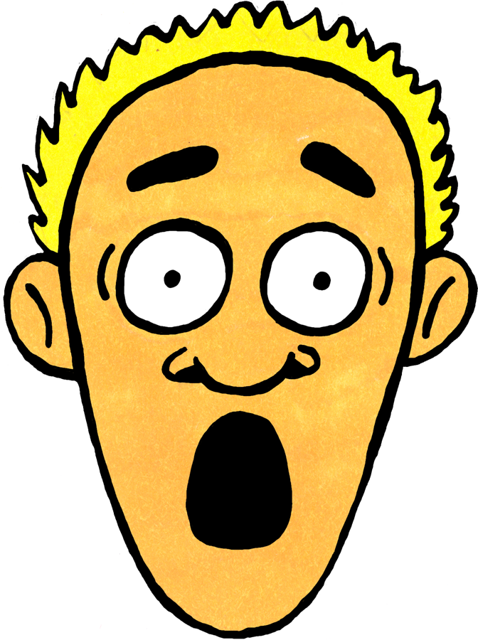 672x900 Shocked Sad Face Clipart