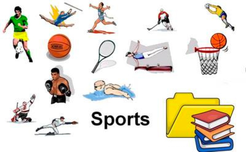800x496 Free Sports Clipart Image
