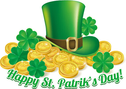 435x307 Happy St Patrick's Day Clipart