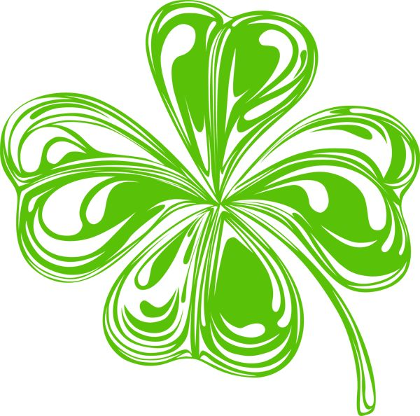 600x594 St Patrick Day Clipart