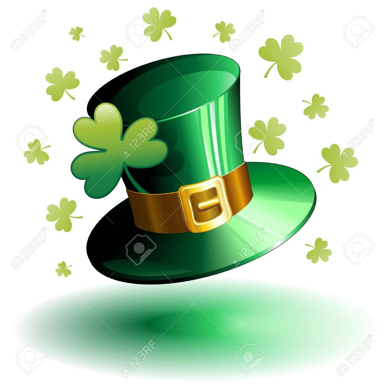 1300x1300 St Patricks Day Clovers