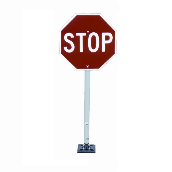 600x600 Parking Lot Stop Sign Flexible Parking Sign