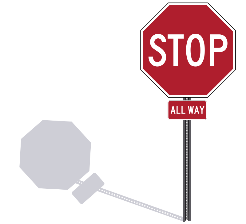 800x730 Clipart Stop Signs