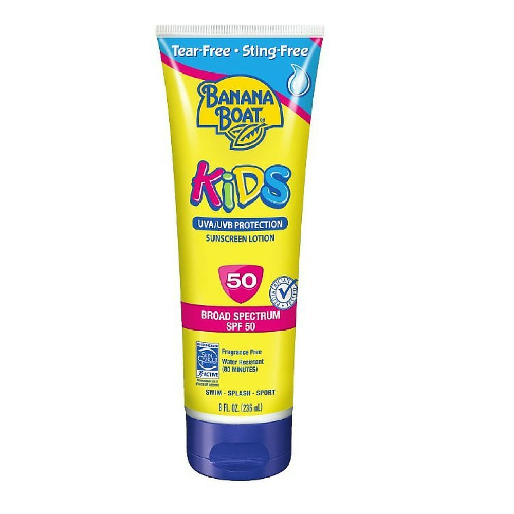 1000x1000 Banana Boat Kids Tear Free Sunscreen Lotion Spf 50, 8