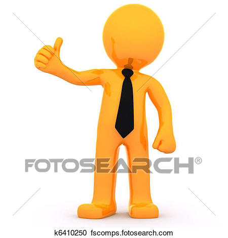 450x470 Stock Illustrations Of 3d Character Man Showing Thumbs Up K7812980