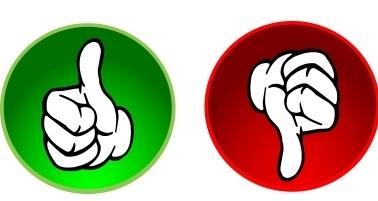 378x201 Thumbs Up, Thumbs Down