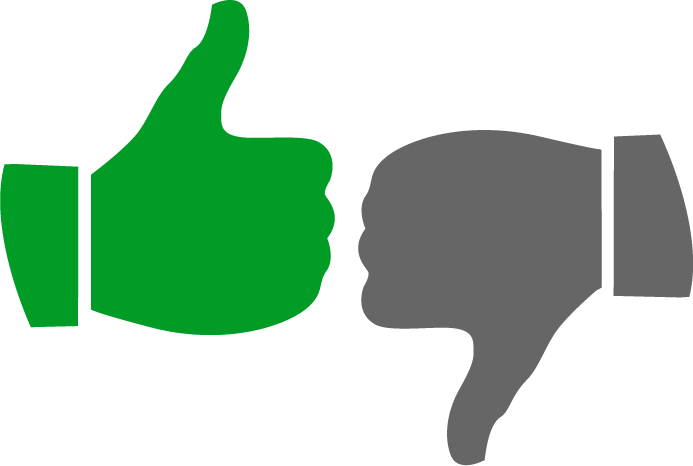 693x466 Thumbs Up Thumbs Down Clipart