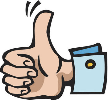 350x323 Thumbs Up Clipart Clipartmonk