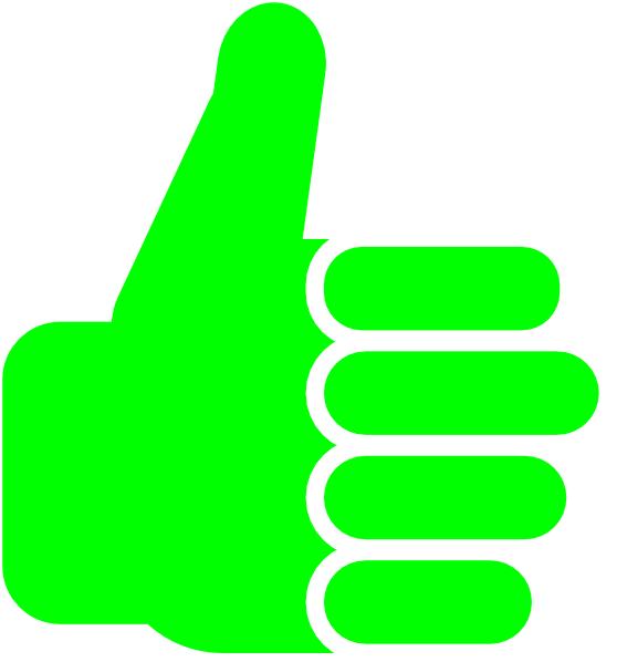 558x598 Thumbsup Clip Art