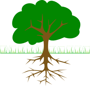 300x287 Tree Branches And Roots Clip Art