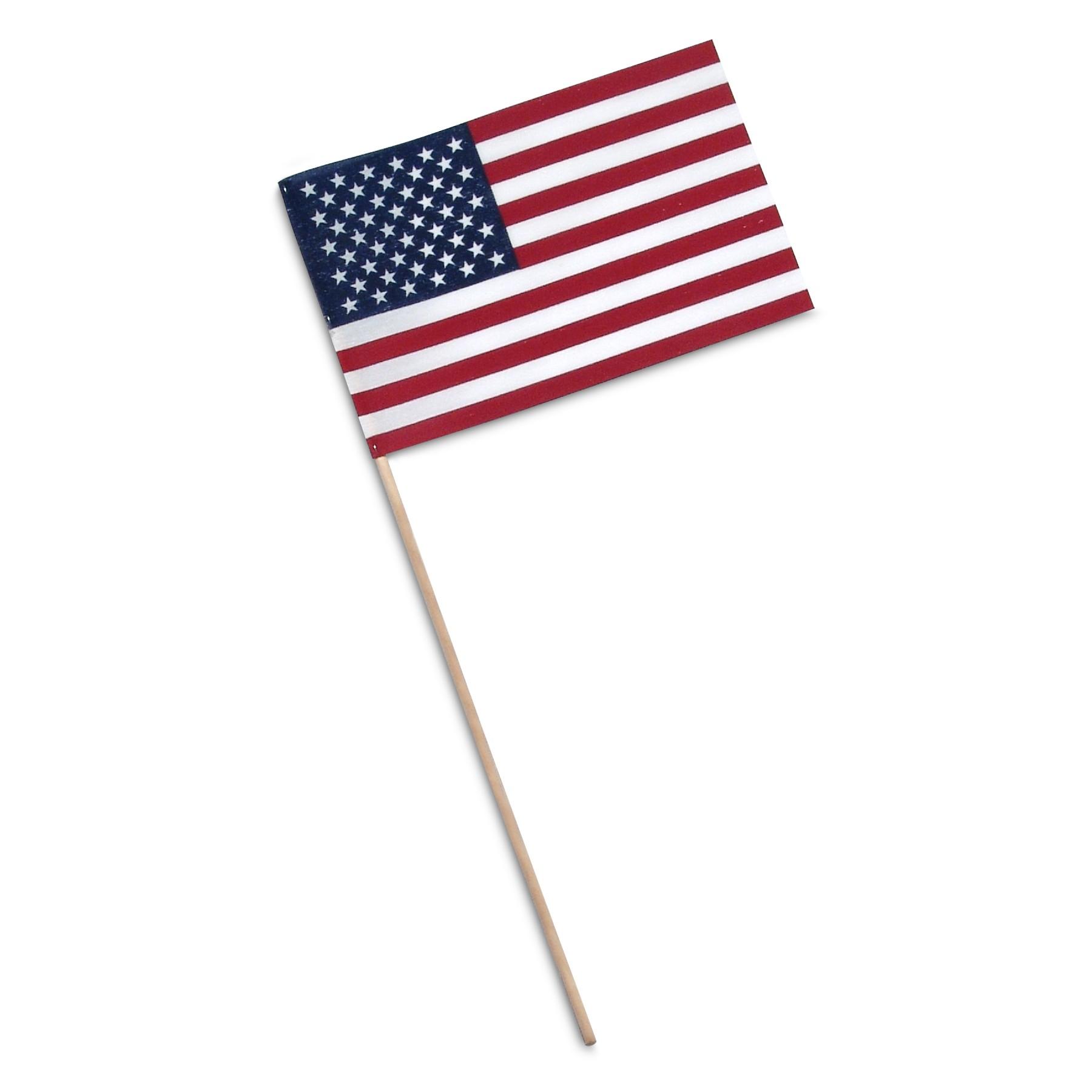 1800x1800 Handheld American Flags