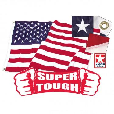 374x374 Super Tough U.s. Flags