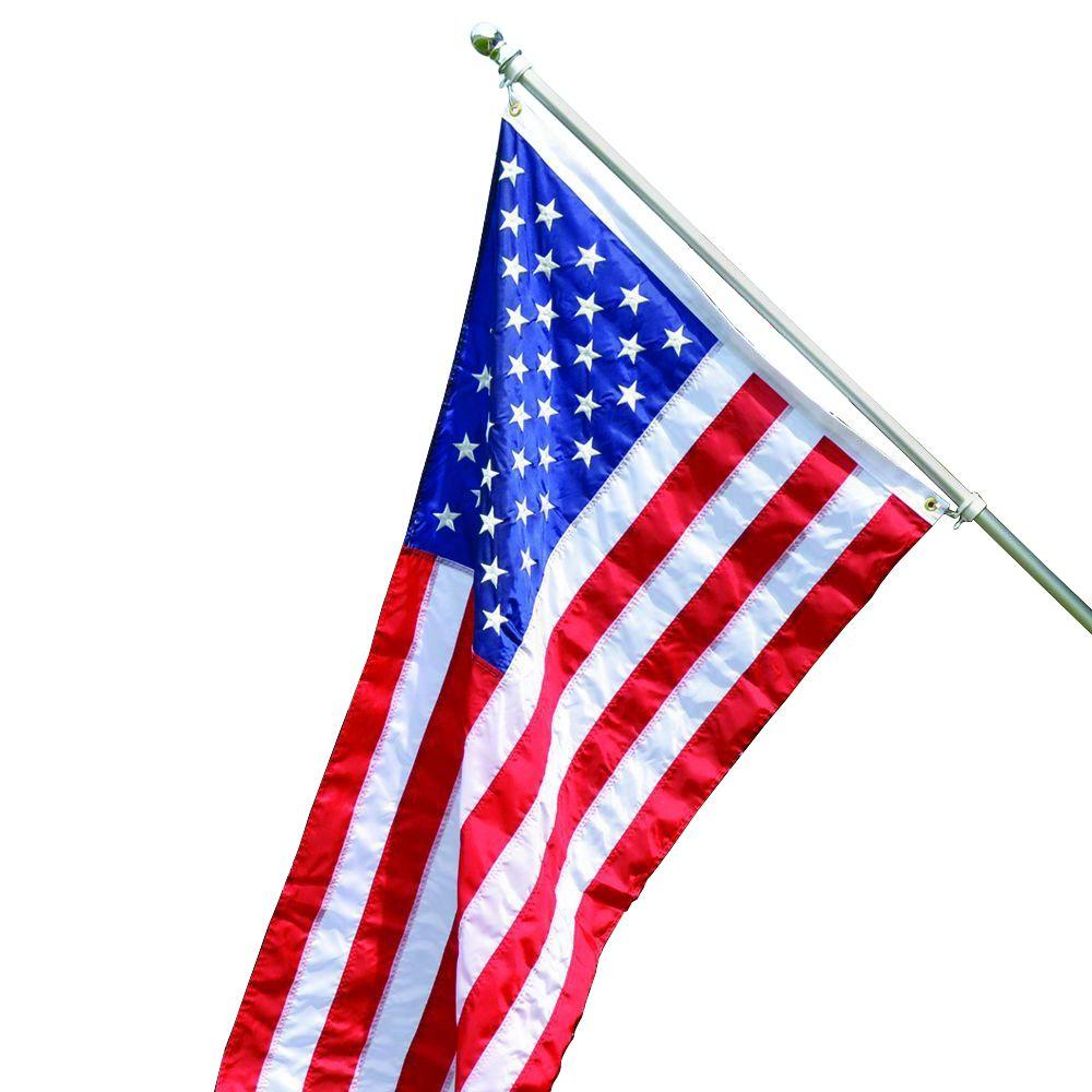 1000x1000 Valley Forge Flag All American 3 Ft. X 5 Ft. Nylon Us Flag Kit