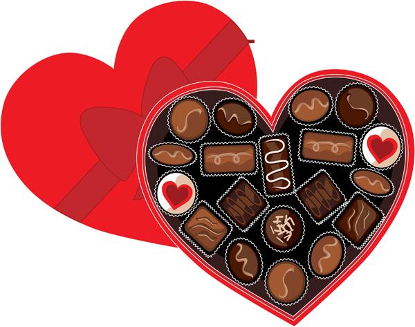 600x473 Valentine's Day Clipart Valentine Chocolate