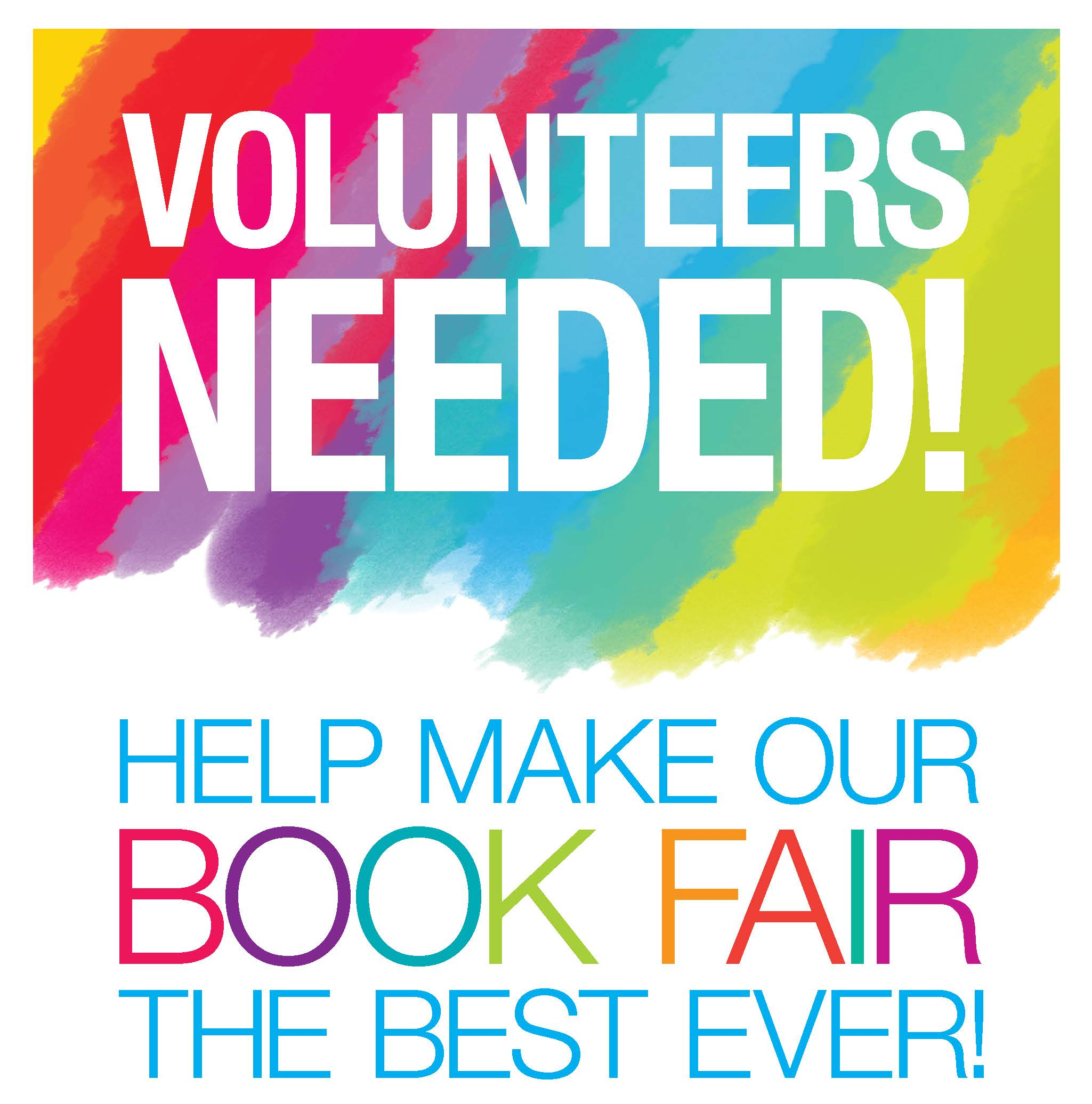 2049x2072 Volunteers Needed For Book Fair! Allenwood Elementary Ptg