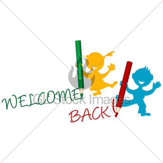 325x325 Sheet Of Paper With Welcome Back Text Gl Stock Images