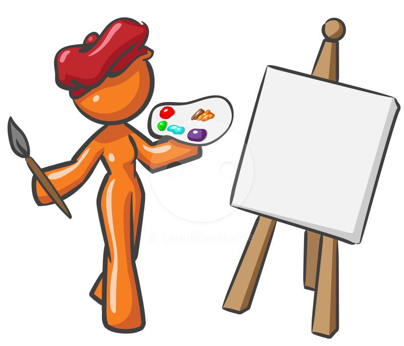 800x685 Artistic Clipart Creativity