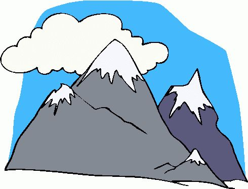 490x374 Best Mountain Clipart Ideas Drawn Mountains