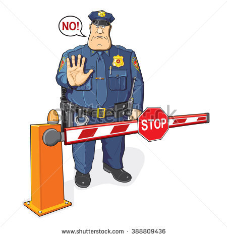 Cop clipart immigration officer - Pencil and in color cop ...