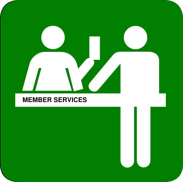 600x599 Member Services Clip Art