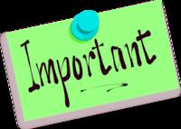 200x142 Important Note Clip Art