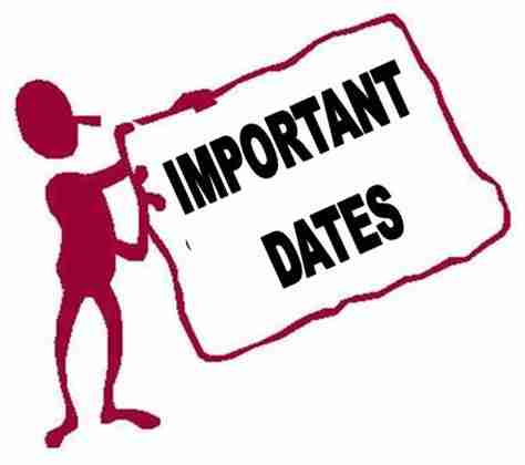 474x420 Dates To Remember Clipart