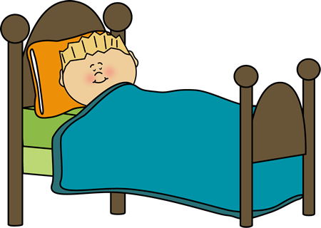 450x320 Blanket Clipart Kid Bed