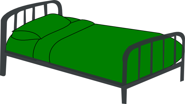 600x338 Bed Clip Art