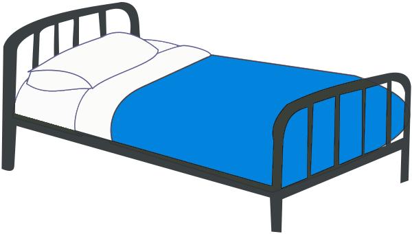 600x341 Bed Clip Art