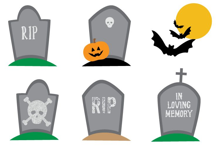 750x500 Haunted Graveyard Clip Art