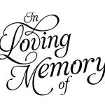 150x150 In Loving Memory Of In Loving Memory Clipart Clip Art Library Valo