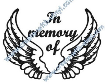 340x270 In Memory Of Svg Etsy