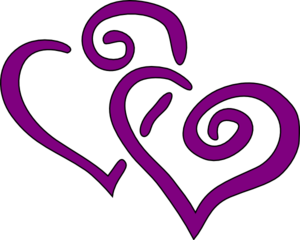 300x240 Interwined Heart Clip Art