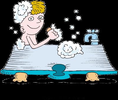 400x340 Image Of Bath Clipart