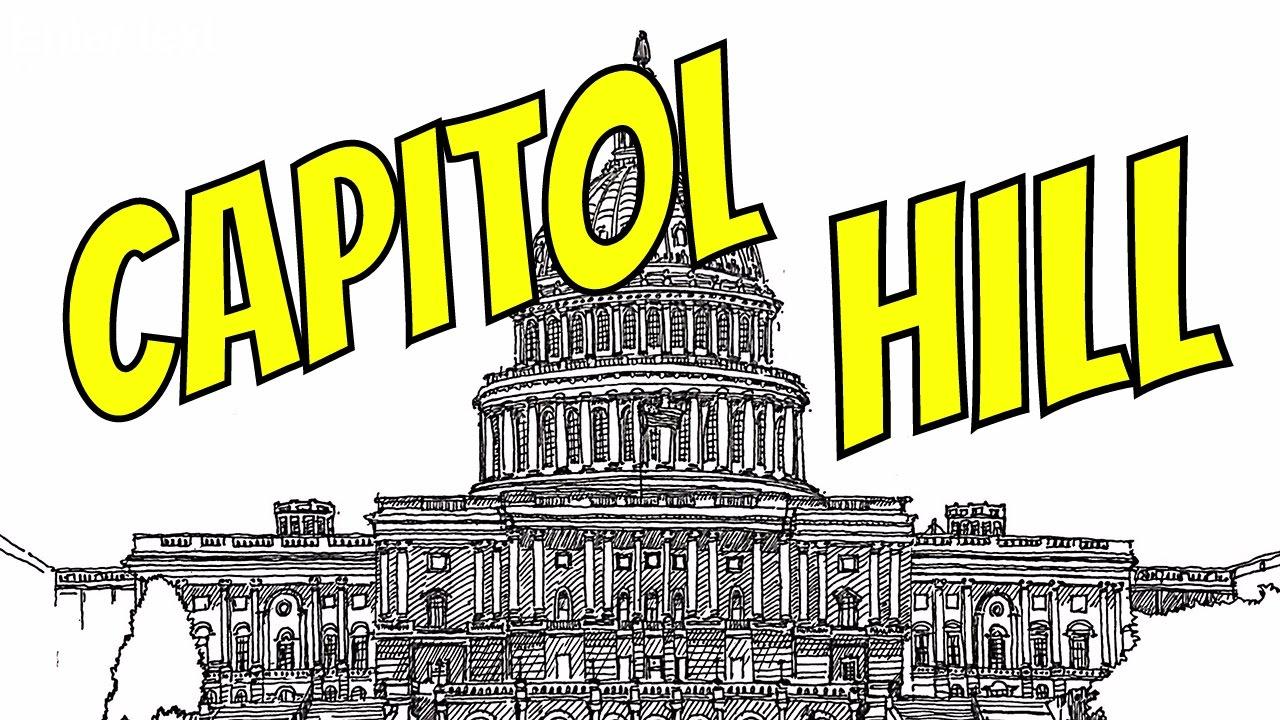 1280x720 Inauguration 2017 Capitol Hill (U.s Capitol) Sketch Timelapse