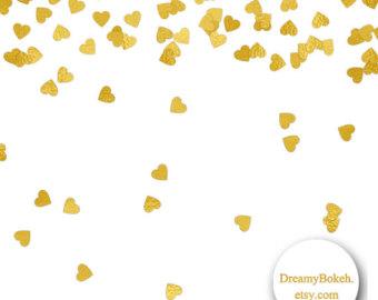 340x270 Gold Foil Stars Confetti Digital Paper Frames Borders 12x12
