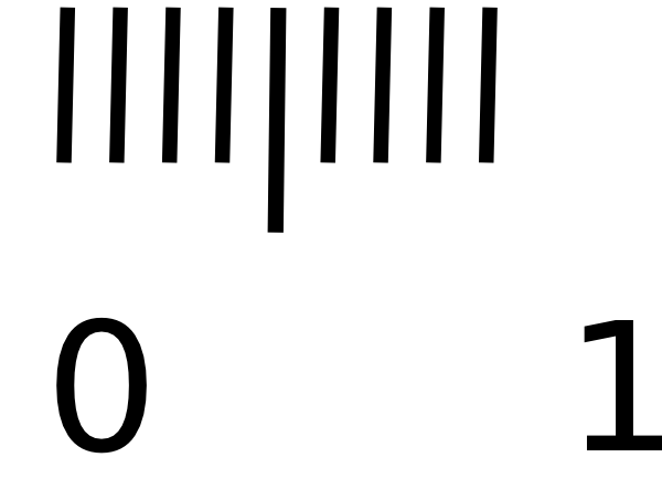 600x453 Cm Ruler Clipart