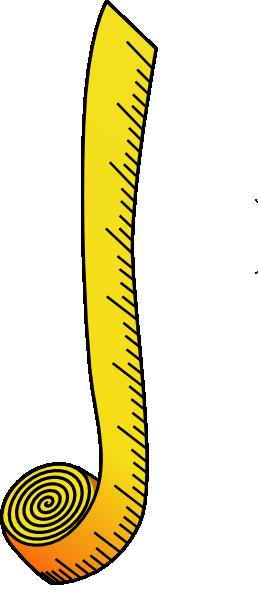258x594 Ruler Clip Art
