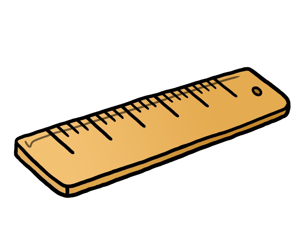 1024x768 Best Ruler Clipart