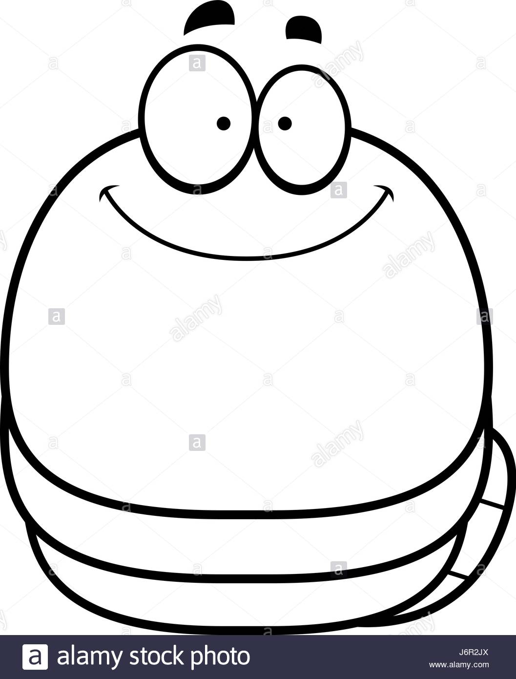 1057x1390 A Cartoon Illustration Of A Worm Smiling Stock Vector Art