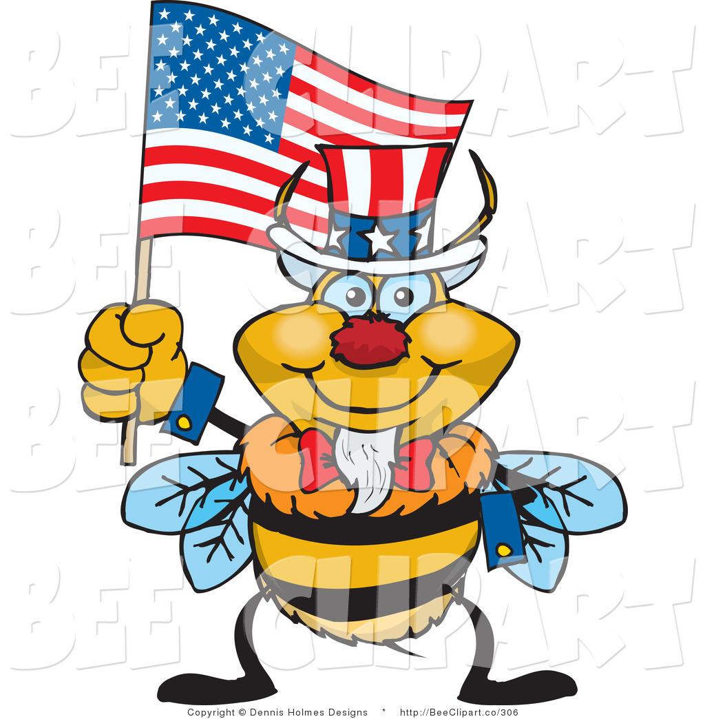 1024x1044 Cartoon Vector Clip Art Of An American Patriotic Uncle Sam Bumble