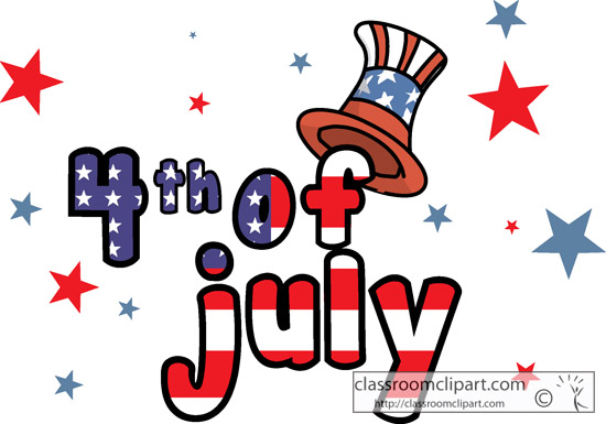 550x385 Fourth July Free 4th Of July Clipart Independence Day Graphics 3
