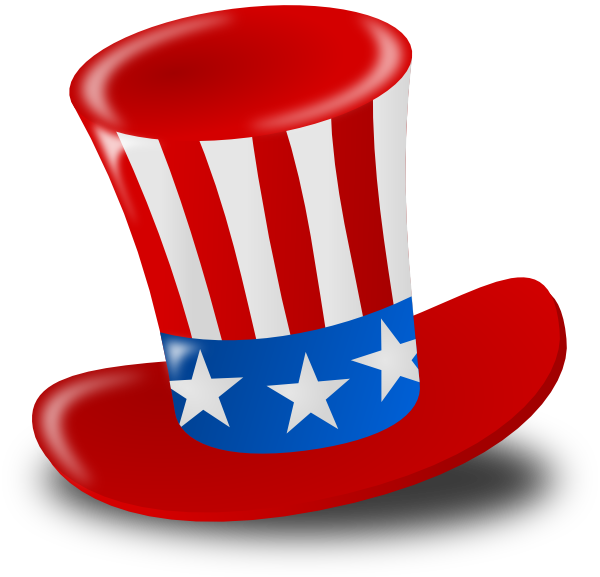 600x577 Independence Day Hat Clip Art