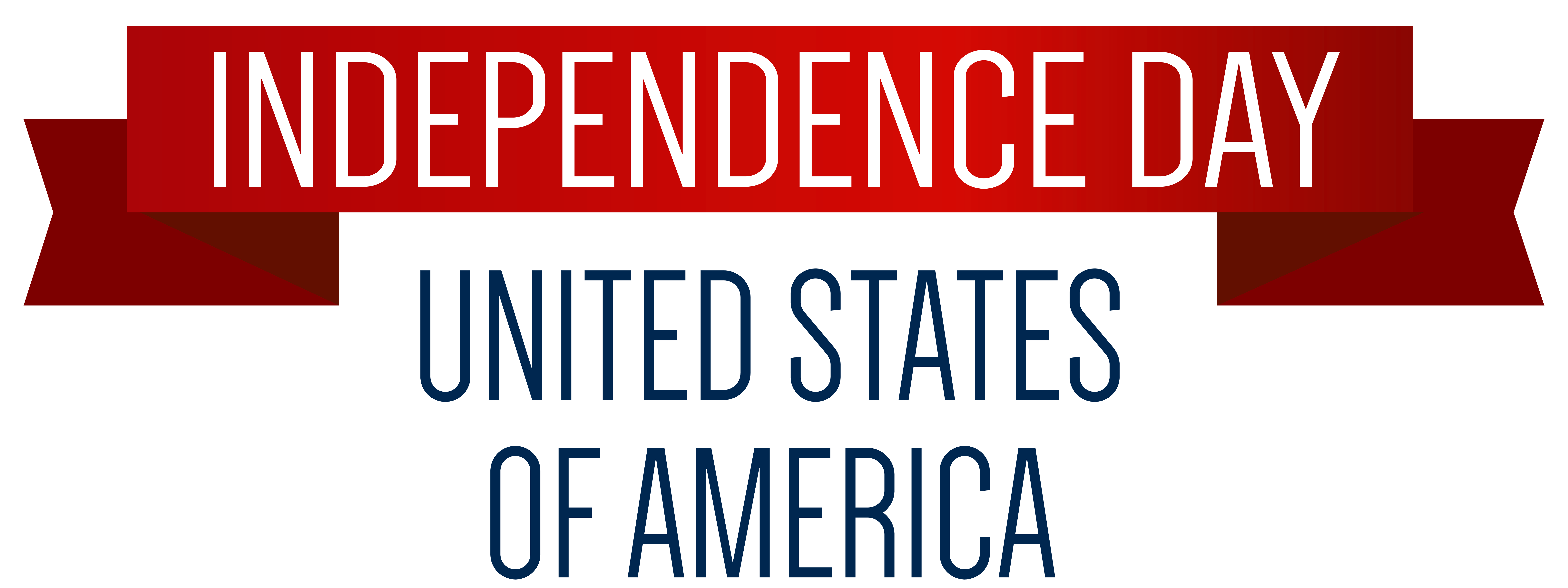 8000x3002 Usa Independence Day Banner Png Clip Art Imageu200b Gallery