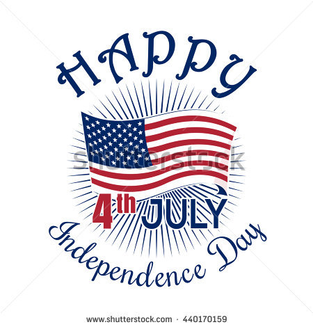 450x470 American Flag Clipart Independence Day July 4th