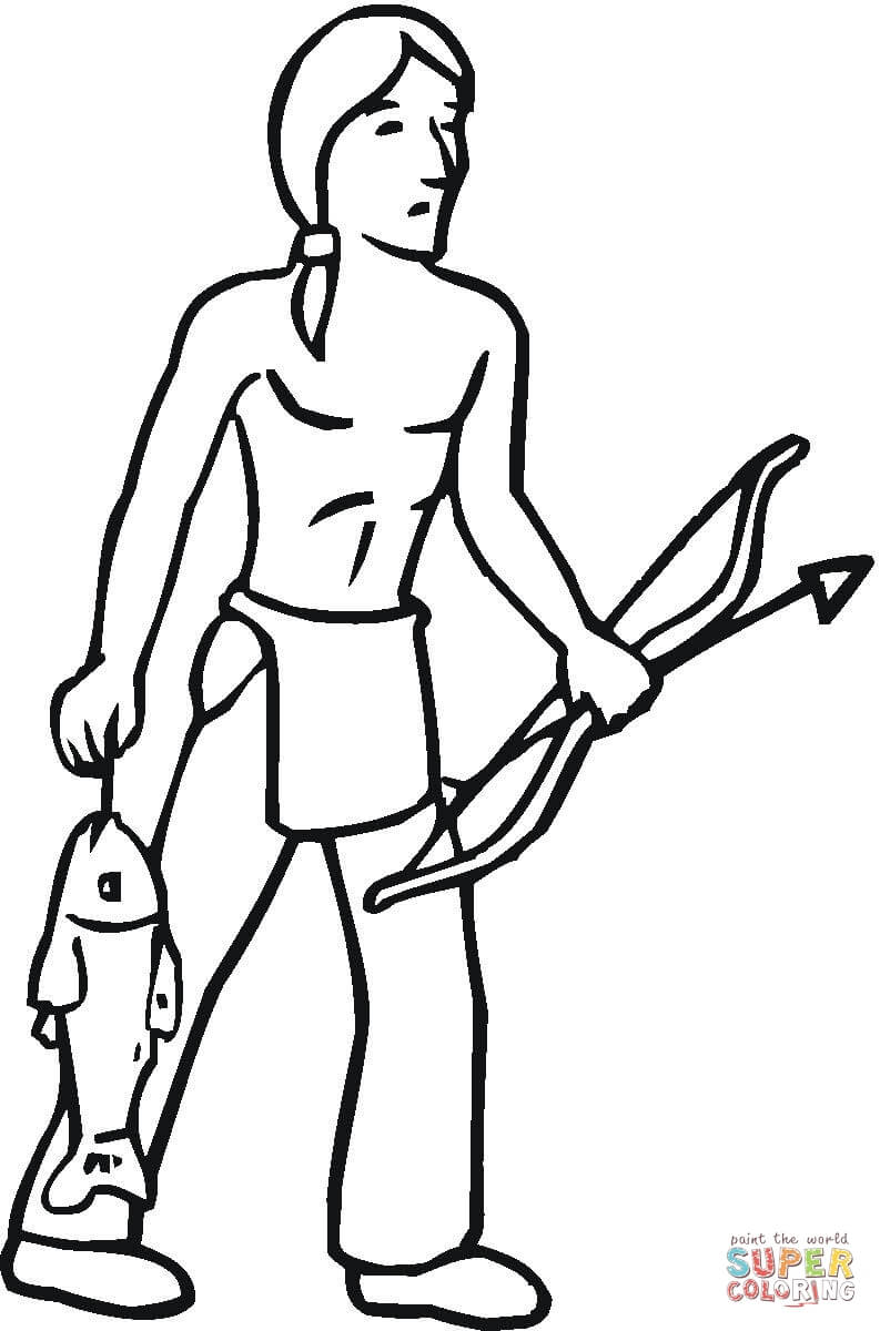 Indian Coloring Pages | Free download best Indian Coloring Pages on ...