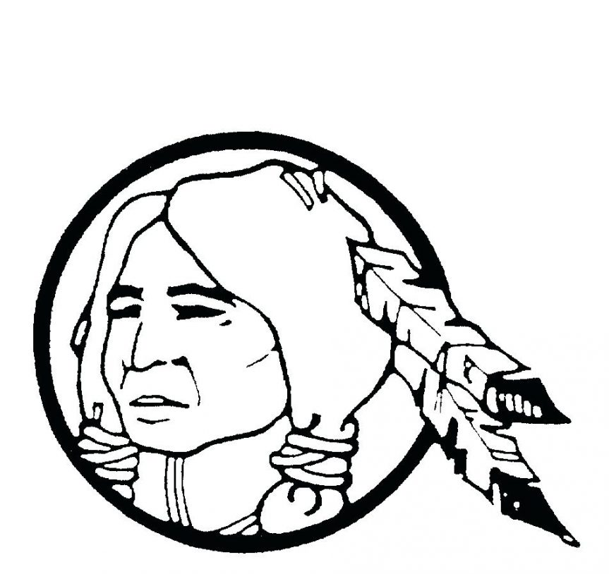 863x814 Coloring Pages Cherokee Indian Sheets Cherokee Indian Coloring